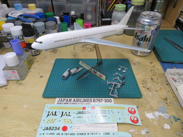 B767-300 JAL の2