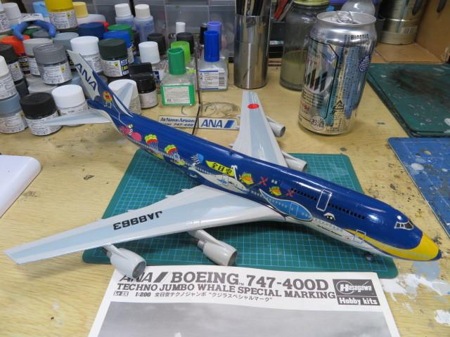 B747-400 ANA の7