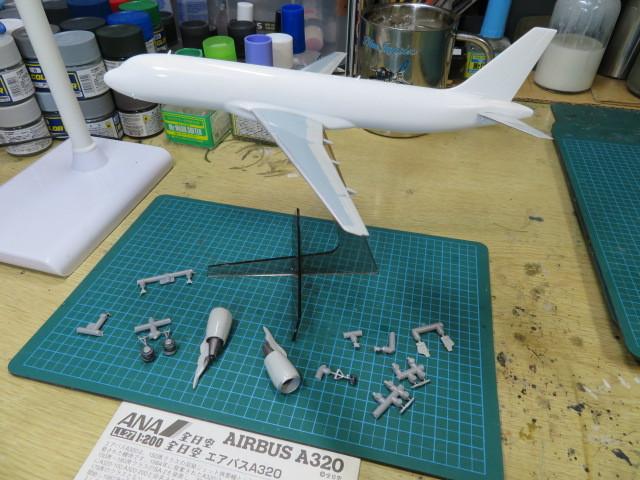 エアバスA320 ANA 初期の3