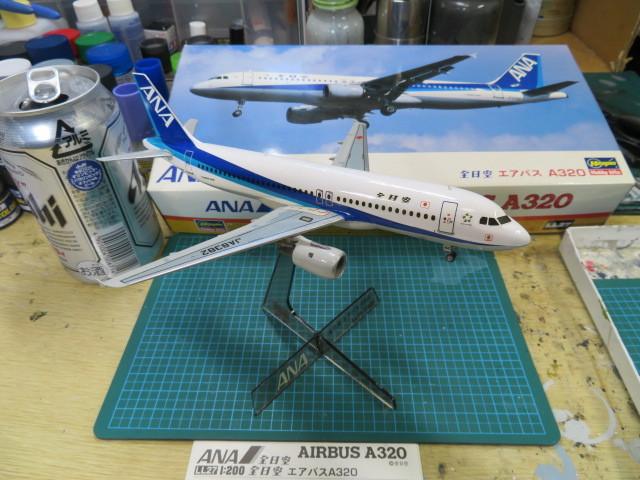 エアバスA320 ANA 初期の6