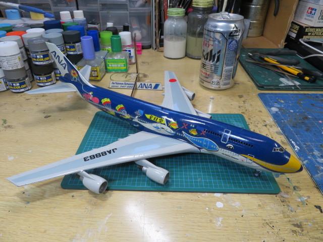 B747-400 ANA の8