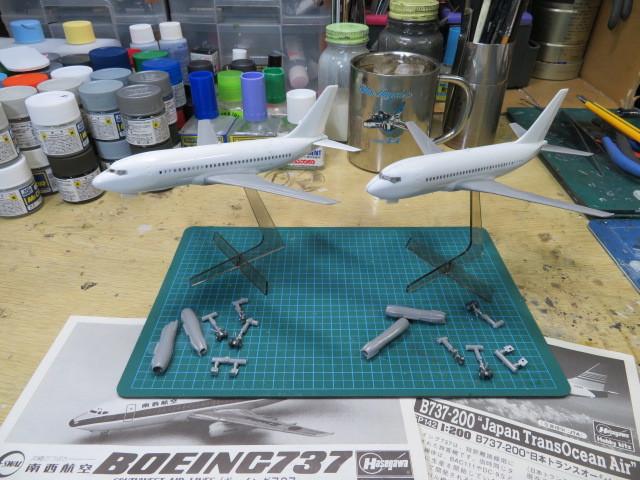 B737-200 南西航空 JTA 1/200 の2