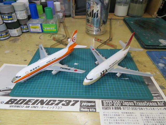 B737-200 南西航空 JTA 1/200 の5