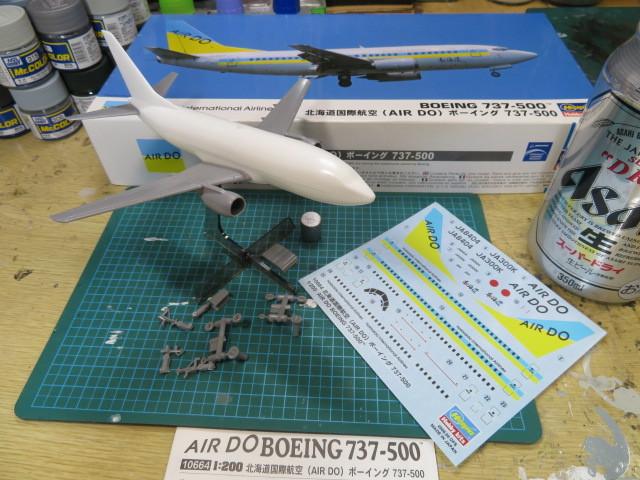 B737-500 AIR DO の1