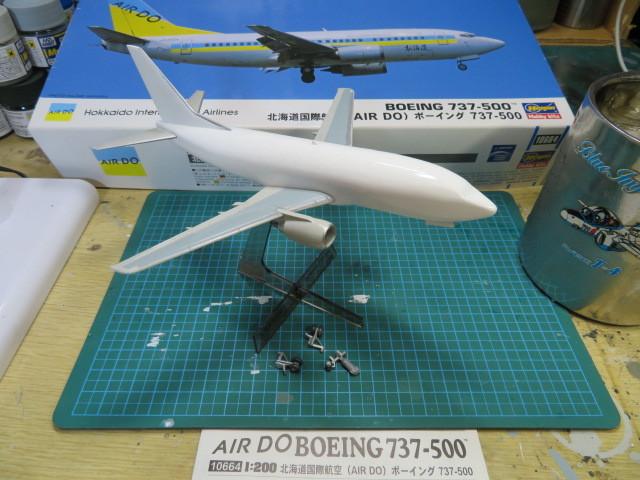 B737-500 AIR DO の2