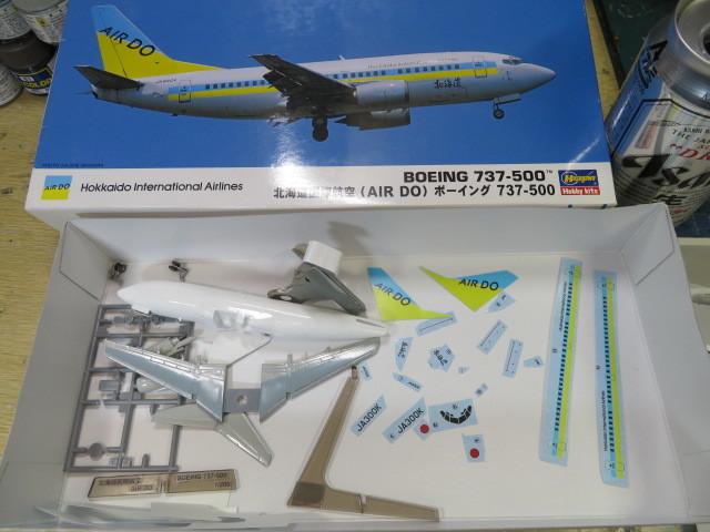 B737-500 AIR DO の3