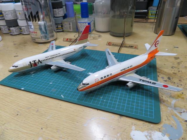 B737-200 南西航空 JTA 1/200 の6