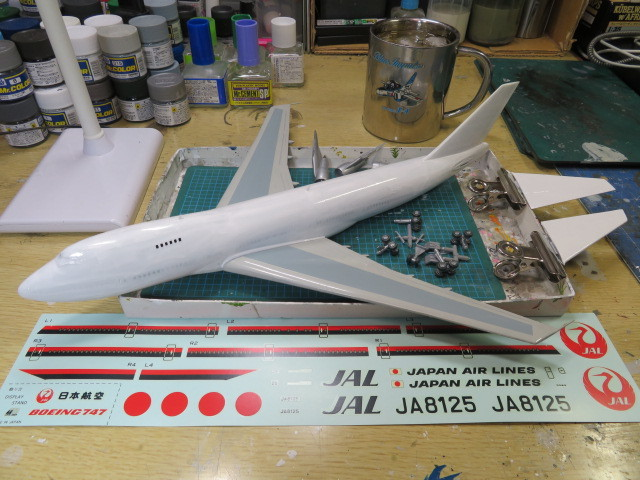 B747-200 JAL の3