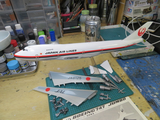 B747-200 JAL の5