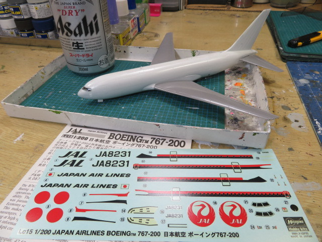 B767-200 JAL の2