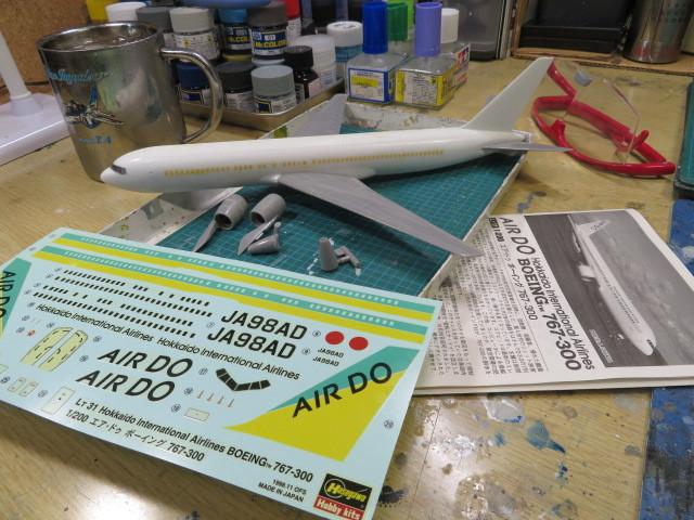 B767-300 AIR DO の1