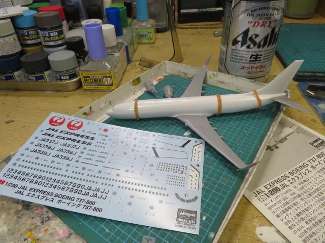 B737-300 JALエキスプレス の1