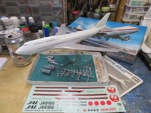 B747-300SUD JAL の1
