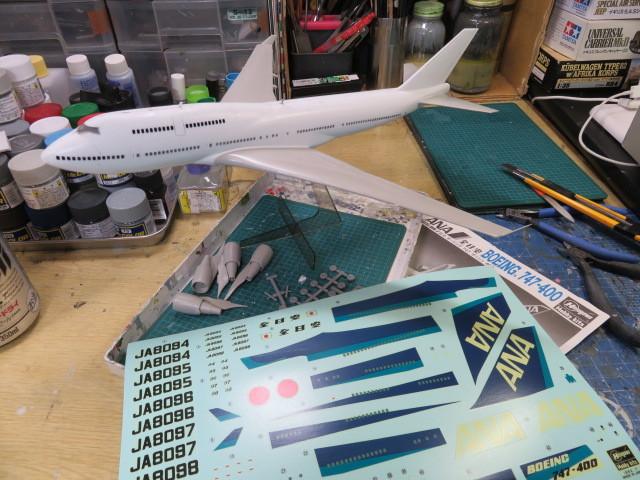 B747-400 ANA の1