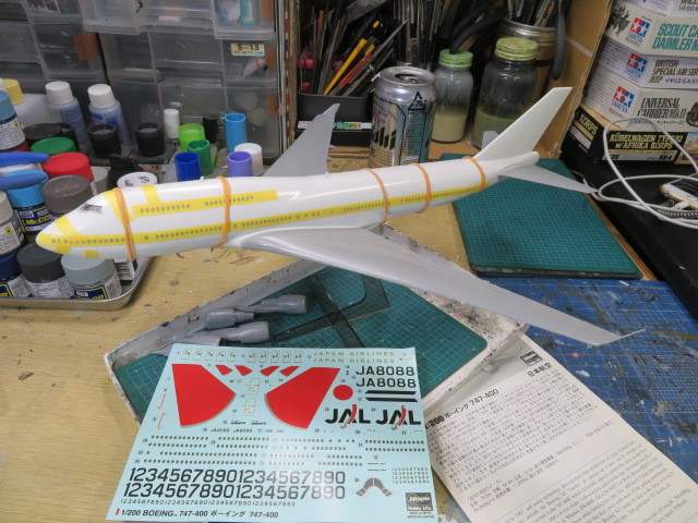 B747-400 JAL 2003 の1