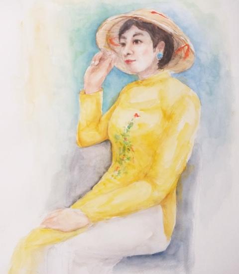 ベトナムアオザイ民族衣装