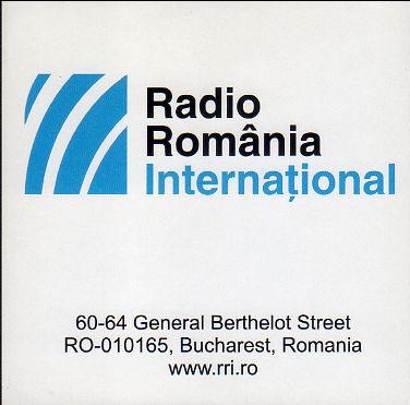 ロシア語放送受信  Radio Romania International(ルーマニア)