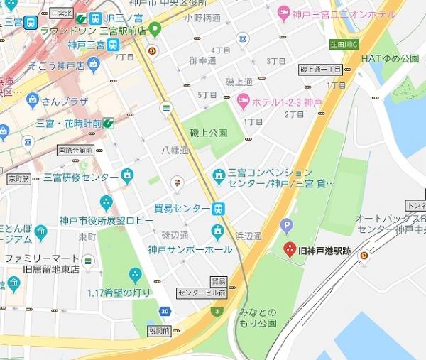 旧神戸港駅