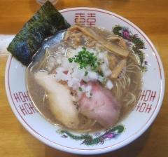 麺屋 謝(いやび)6月28日オープン--煮干しそば_和え玉①