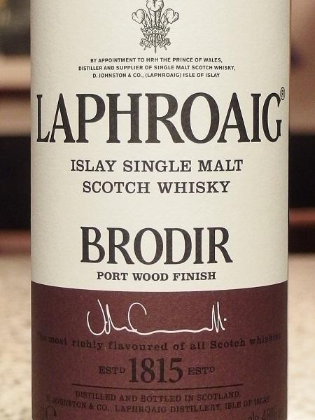 LAPHROAIG BRODIR_L600