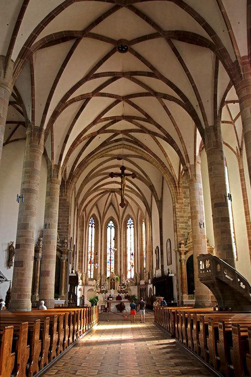 メラーノ サン・ニコロ教会 内部