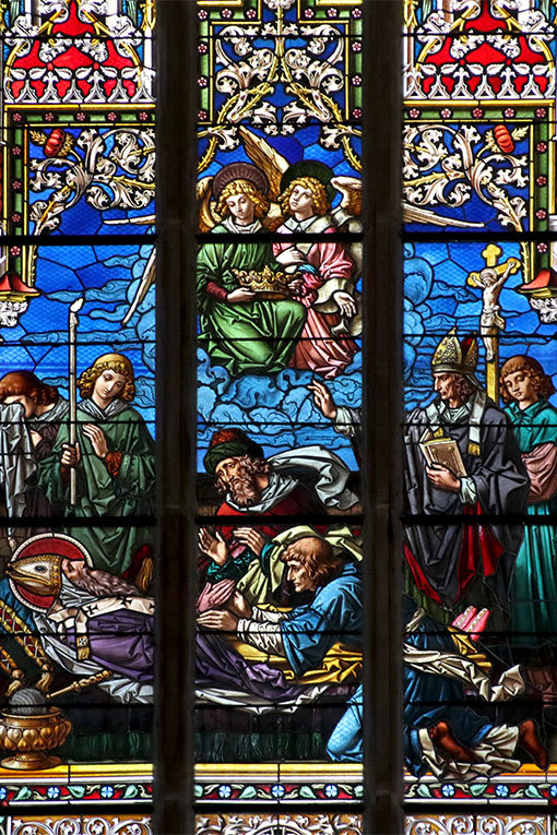 メラーノ サン・ニコロ教会 ステンドグラス