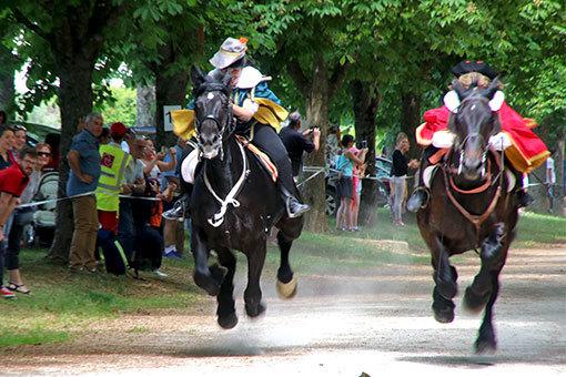 指輪祭り 前座レース