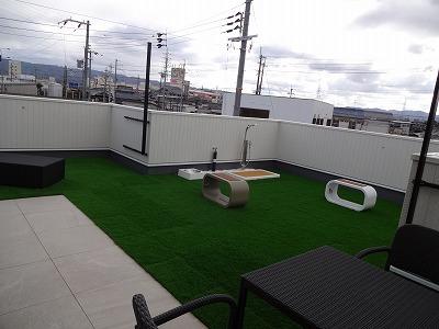 泉佐野の屋上モデルハウスb