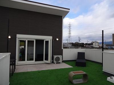 泉佐野の屋上モデルハウスa
