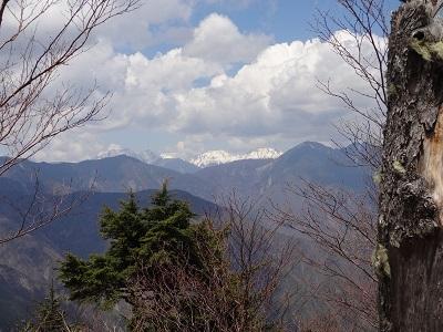 DSC07024荒川岳と赤石岳