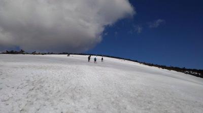 6安達太良山登りはじめ