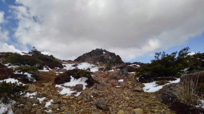 7山頂が見えます