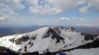 9山頂からの眺め