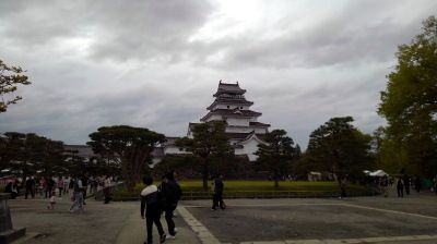 11鶴ヶ城を観光してきました