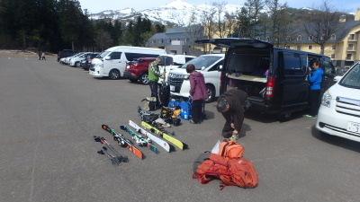 2019春山合宿妙高山スキー001