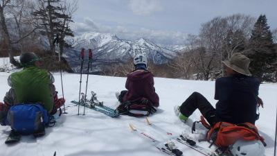 2019春山合宿妙高山スキー006