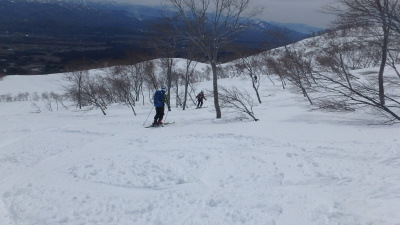 2019春山合宿妙高山スキー010