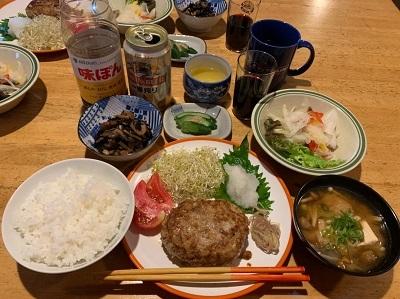 1藤内小屋夕食