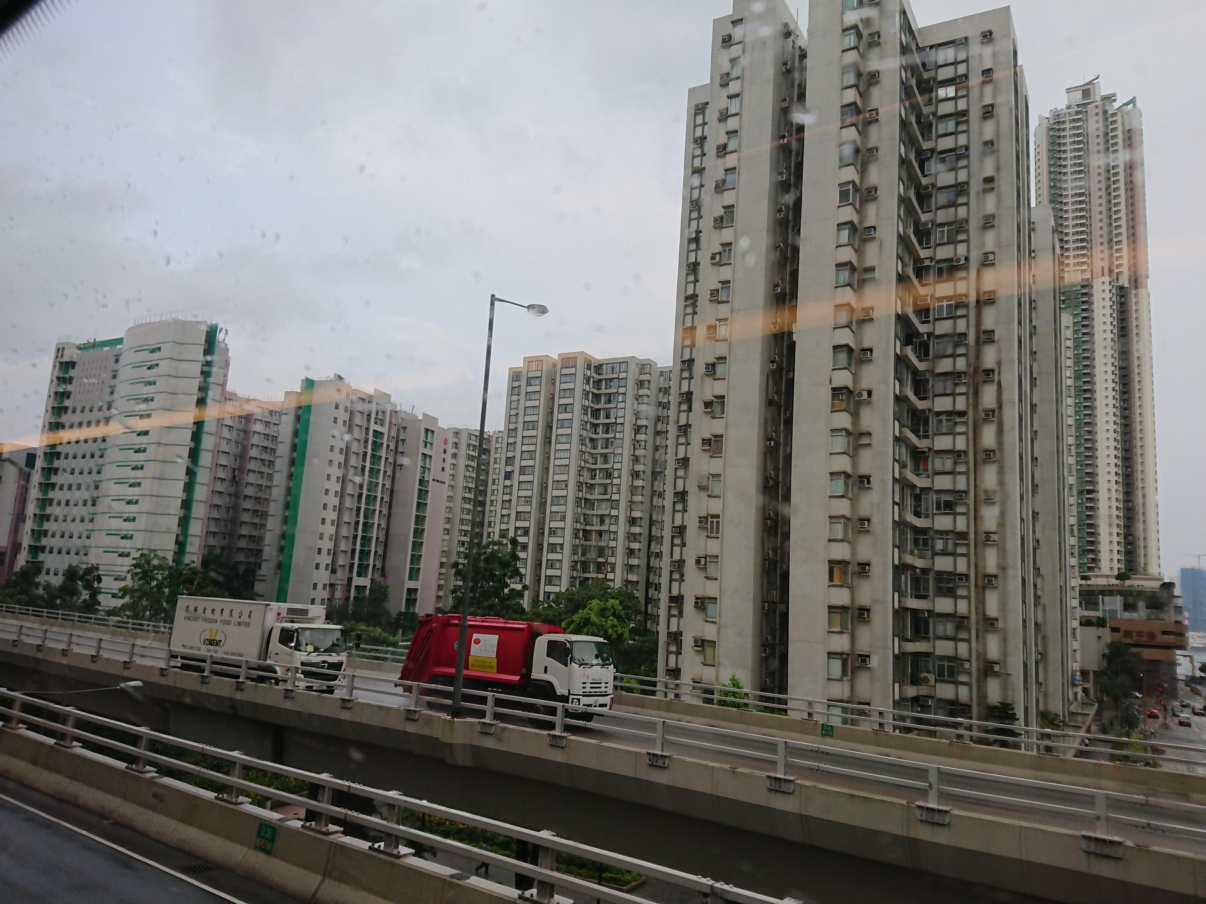 HongKong_高層ビル2