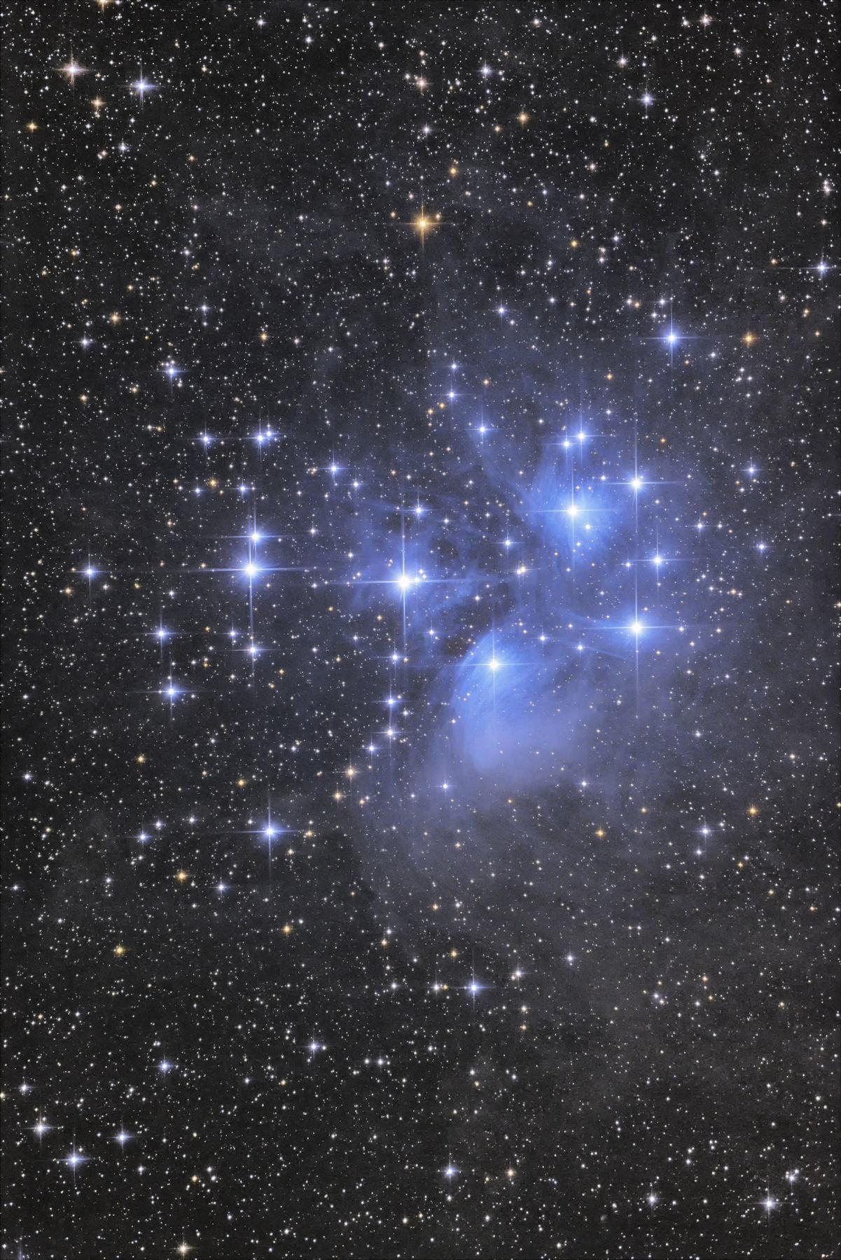 【星団】M45 プレアデス星団(すばる)