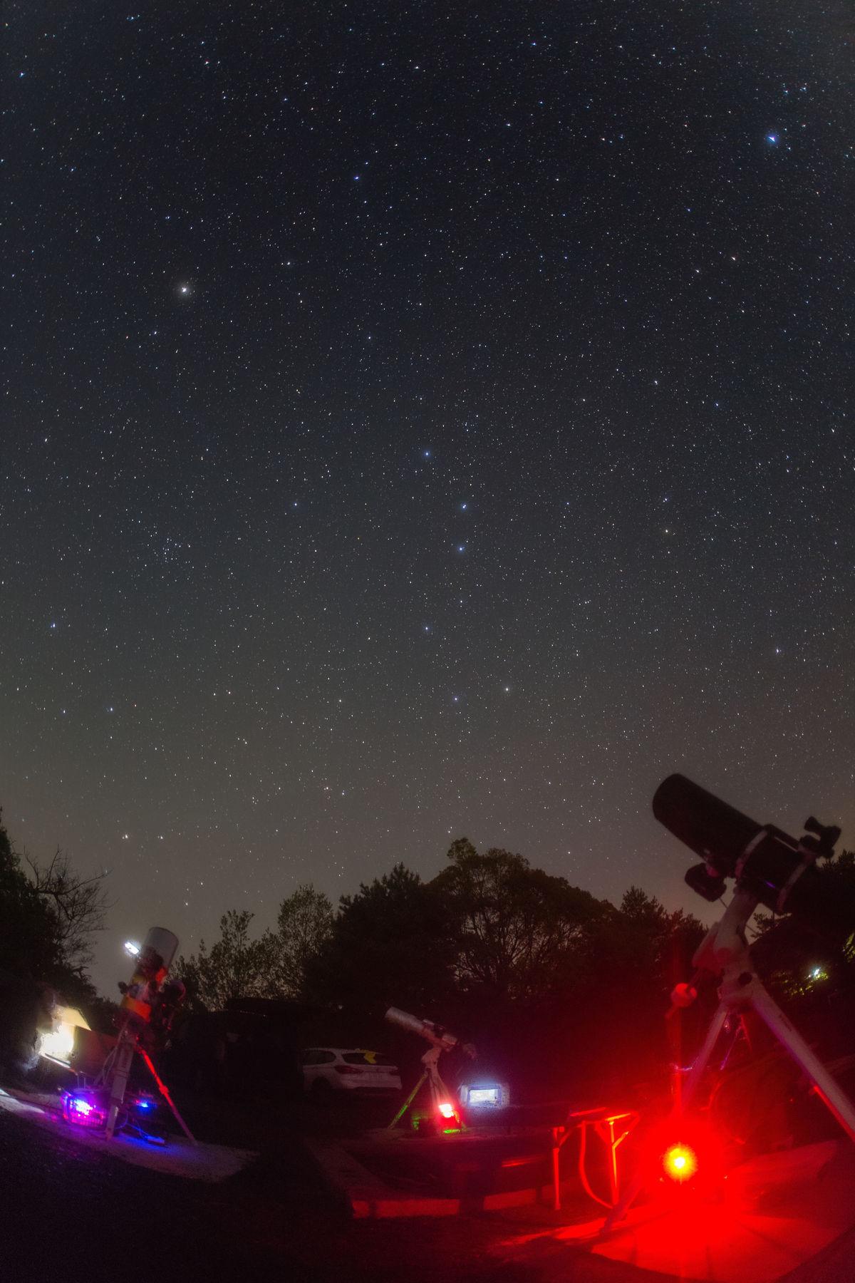 【星景】八塔寺星を観る会 4月定期観望会