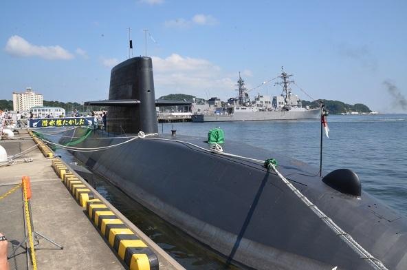 潜水艦たかしお_横須賀