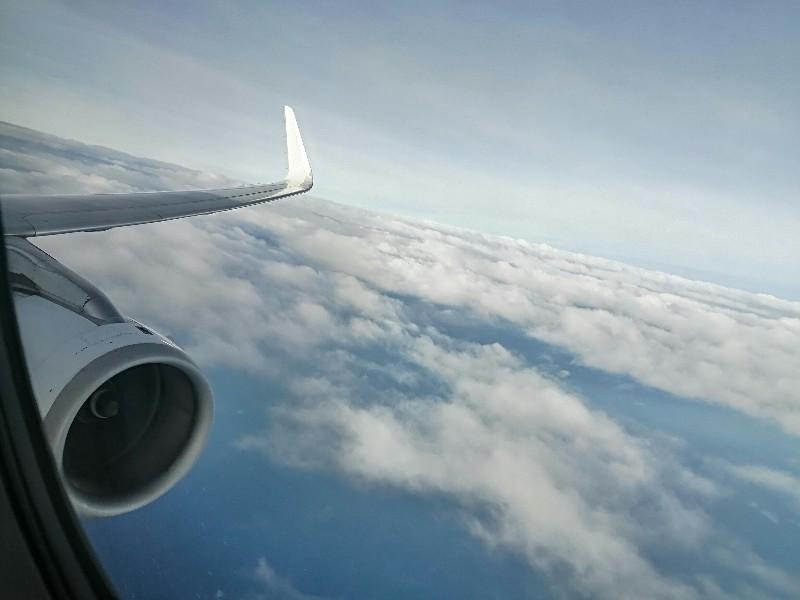 ironman70.3Philippines(回想記②)機内~セブ島到着