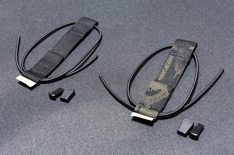 2 実物 SBA3 SPLITFIX & BUBBA TAB Lunar Concepts Wise Men Company!! sling management retention device!! SB TACTICAL ストック & スリング ストラップ 取付 カスタム レビュー!!