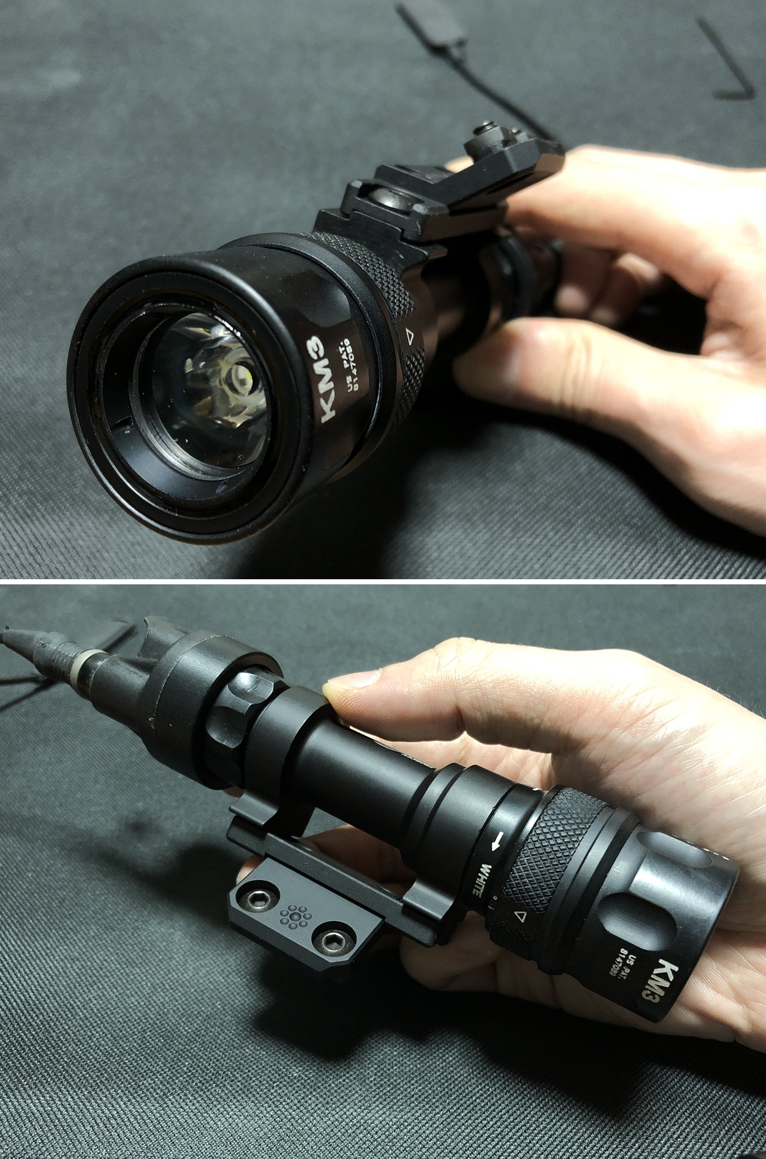 15 実物 ARISAKA DEFENSE LLC OFFSET M620 ADAPTER & SCOUT MOUNT M-LOK & SUREFIRE M952V 実物 アリサカ
