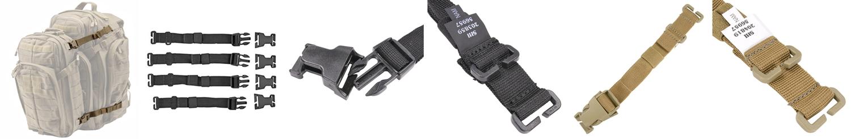 19-20 PR 511 Tactical ストラップシステム 56957 RUSH TIER 4本