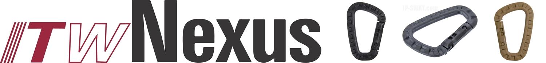 24-25 PR 実物 米軍採用品 ITW Nexus製 ITW TAC LINK タックリンク 強化樹脂製カラビナ