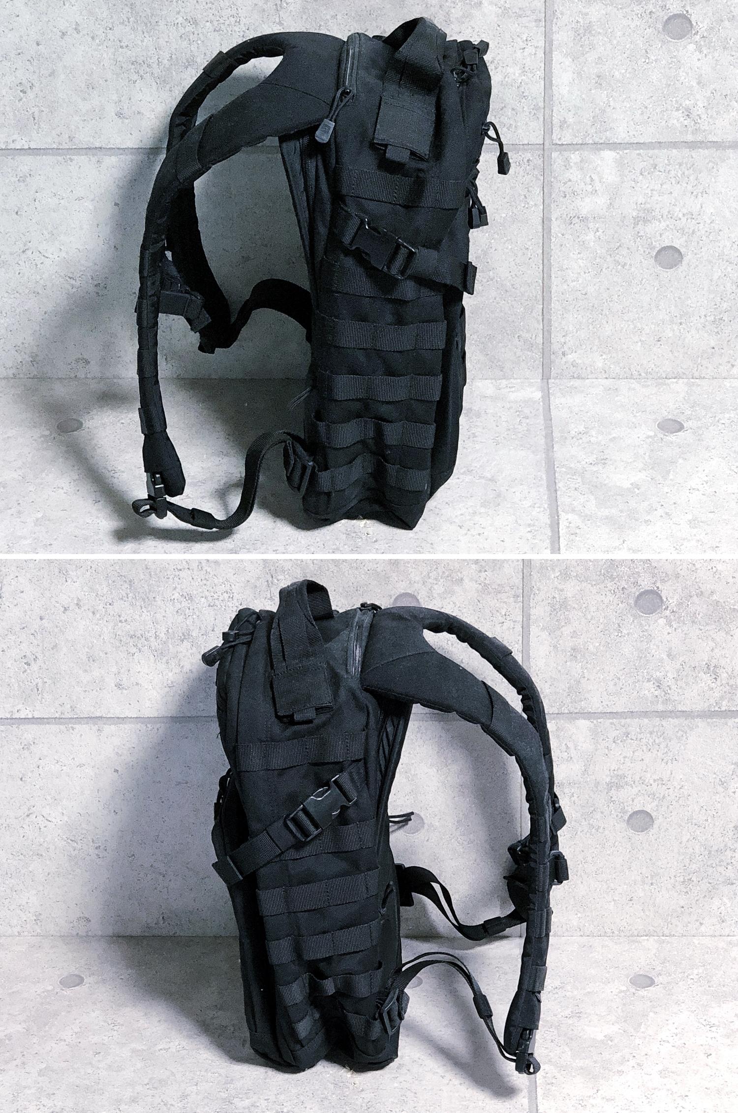 5 実物 511 Tactical RUSH 12 BACKPACK CUSTOM!! ライフルケース・ストラップシステム・ポーチ・ワッペン・ITW TAC LINKなど!! ファイブイレブン タクティカル ラッシュ バックパック カスタム!! 購入 取付 レビュ