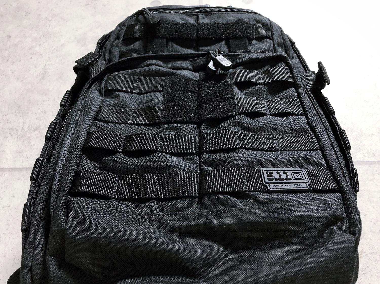 6-7 実物 511 Tactical RUSH 12 BACKPACK CUSTOM!! ライフルケース・ストラップシステム・ポーチ・ワッペン・ITW TAC LINKなど!! ファイブイレブン タクティカル ラッシュ バックパック カスタム!! 購入 取付 レビ