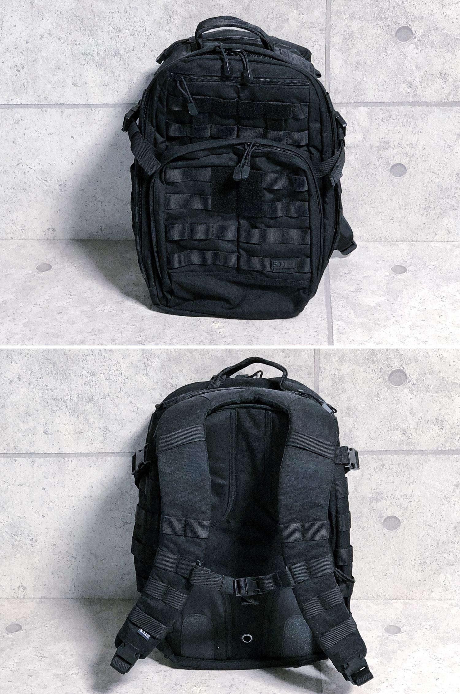 4 実物 511 Tactical RUSH 12 BACKPACK CUSTOM!! ライフルケース・ストラップシステム・ポーチ・ワッペン・ITW TAC LINKなど!! ファイブイレブン タクティカル ラッシュ バックパック カスタム!! 購入 取付 レビュ